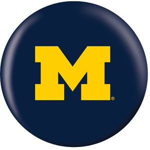 OTB NCAA Michigan Wolverines Bowling Balls