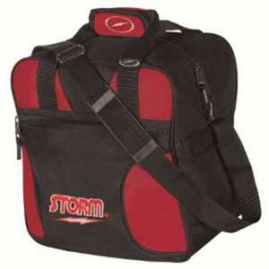 Storm Solo 1 Ball Tote Black/Red Bowling Bags