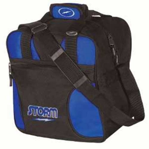 Storm Solo 1 Ball Tote Black/Royal Bowling Bags
