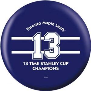 OTB NHL Toronto Maple Leafs 13 Time Champions Bowling Balls