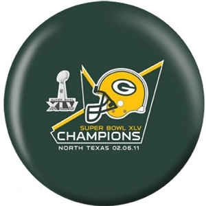 NFL Bowling Ball Superbowl Champs Packers