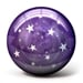 Purple Stars - bowlingball.com Exclusive