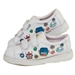 Kids Bots Easy Strap White