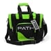 Path Single Deluxe Tote Black/Lime Green
