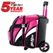 Cruiser Single Ball Roller Pink/White/Black