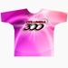 Pink Flare Dye-Sublimated Crew Neck