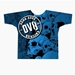 Blue Skull Dye-Sublimated Crew Neck