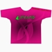 Pink/Black Dye-Sublimated Crew Neck