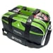 Path Double Tote Plus Clear Top Black/Lime Green NEW COLOR