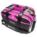 Path Double Tote Plus Clear Top Black/Hot Pink NEW COLOR