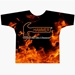 Orange Flames Dye-Sublimated Crew Neck