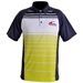 Men's Turbo Sublimated Striped Sport Shirt Citron