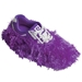 Fun Shoe Covers Fuzzy Purple