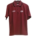 Men's VIP Shop Burgundy/Silver Polo