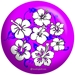 Flower Purple/Blue - bowlingball.com Exclusive