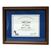 Walnut Certificate Display Frame
