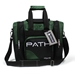 Path Single Deluxe Tote Black/Hunter Green