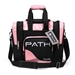 Path Single Deluxe Tote Black/Pink Black Light Responsive