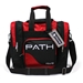 Path Single Deluxe Tote Black/Red