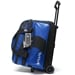 Path Double Roller Bowling Bag Black/Blue