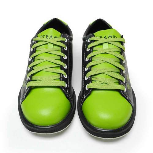 Pyramid Men's Skull Black/Green Bowling Shoes FREE SHIPPING