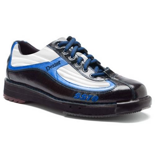 87f00e54b0b Dexter Men s SST 8 SE Black Silver Blue Wide Width Ltd Ed Bowling Shoes  FREE SHIPPING
