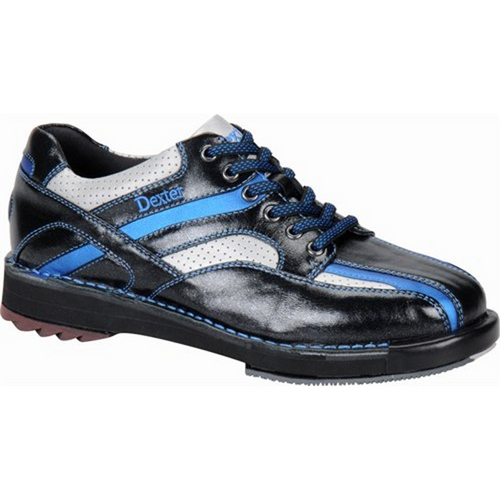 Dexter Mens SST 8 SE Black/Blue/Silver Bowling Shoes FREE SHIPPING
