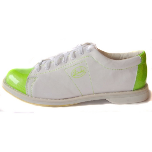Linds Women's Limited Edition Classic White/Lime Green Right ...