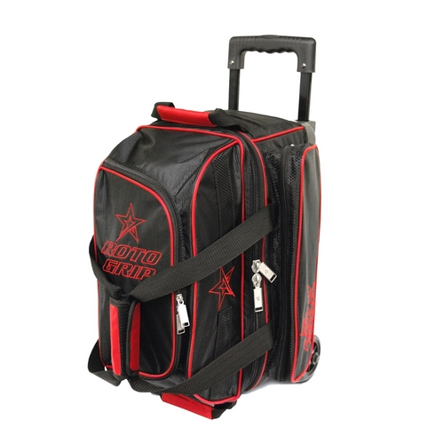 2a234b5ae4 Roto Grip 2 Ball Roller Black Red Bowling Bags FREE SHIPPING