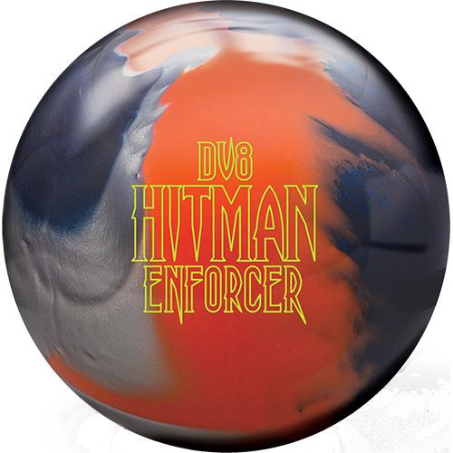 Black//Orange//Blue DV8 Hitman Bowling Ball