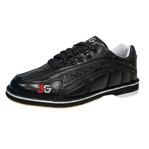 3G Tour Ultra White//Black Right Handed Interchangeable Mens Bowling Shoes