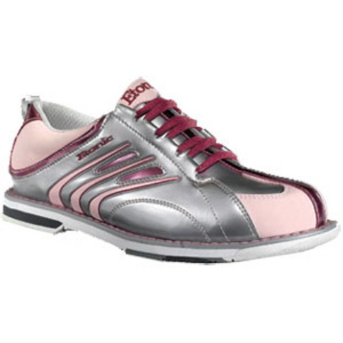 Brunswick Curve White/Hot Pink Bowling Shoes - Women on sale - BowlersParadise.com