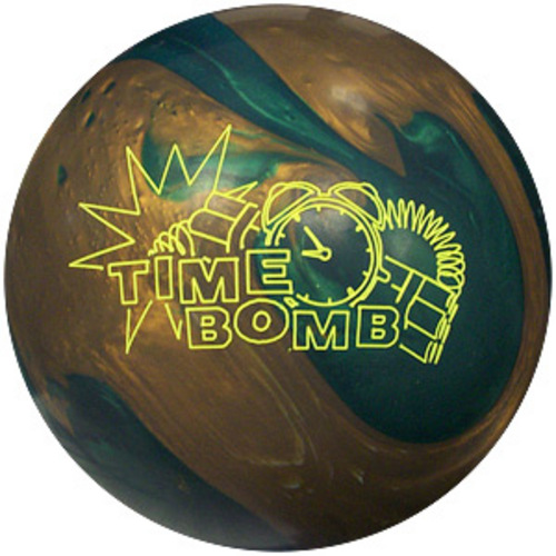 Lane #1 Crystal Bomb 15lb Bowling Ball