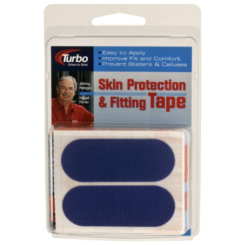 """2 PACK Turbo Bowling Pre Cut Driven To Bowl 1/"""" Skin Tape RED Hada Patch"""
