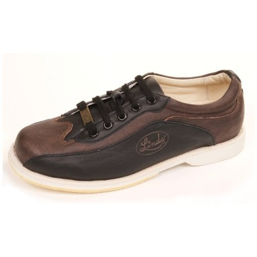 Linds Men's CPS Black/Brown Right Handed Wide Width Bowling Shoes ...