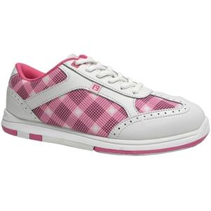 Brunswick Women's Pink Plaid Bowling Shoes FREE SHIPPING