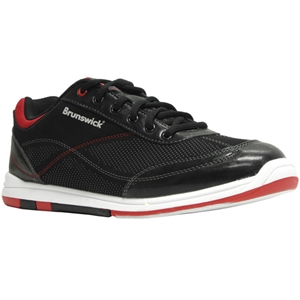 Brunswick Mens Titan Black/Salsa Bowling Shoes FREE SHIPPING