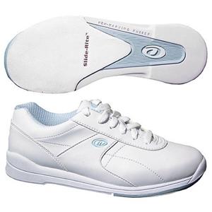 Dexter Women's Raquel III White/Blue Wide Width Bowling Shoes FREE ...