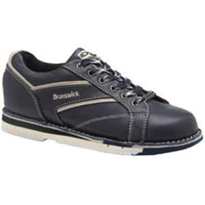 Brunswick Women's Classic Navy/Cream Left Handed Bowling Shoes ...