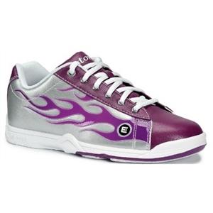 Etonic Women's Basic Burning Lane Purple Flame Bowling Shoes FREE ...